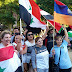 Syrians and Armenians March Jointly in Solidarity