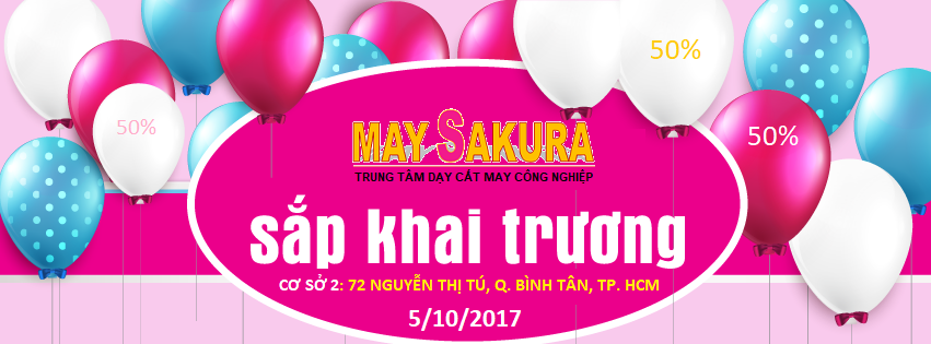 May Sakura Khai Trương cơ sở 2