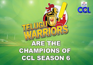 Telugu Warriors, the champions of CCL 6