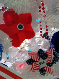 americana pinwheel closeup