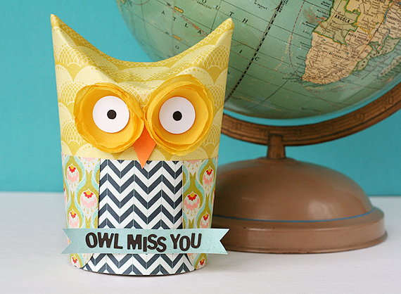 picture relating to Owl Miss You Printable referred to as Printable: Owl Pass up On your own! sweet wrapper the ReFab Diaries