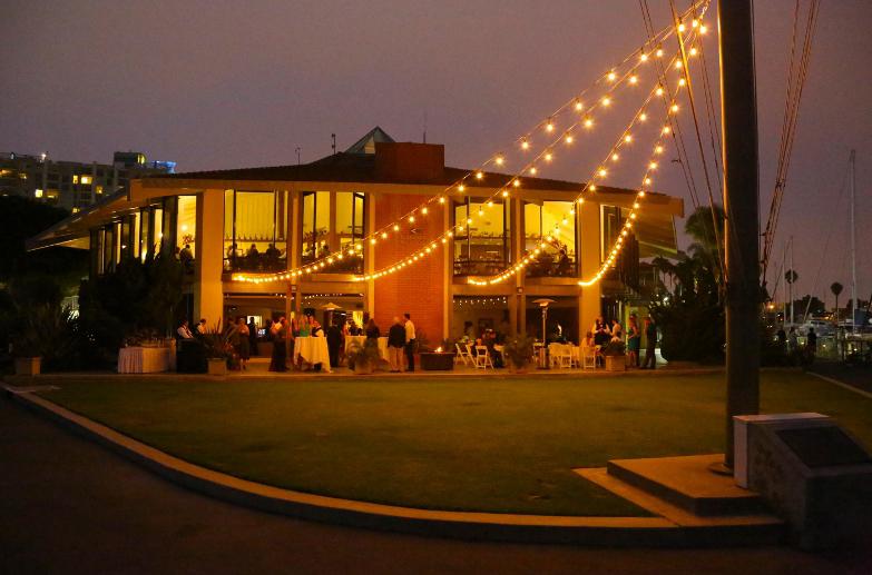 California Yacht Club Wedding Venue