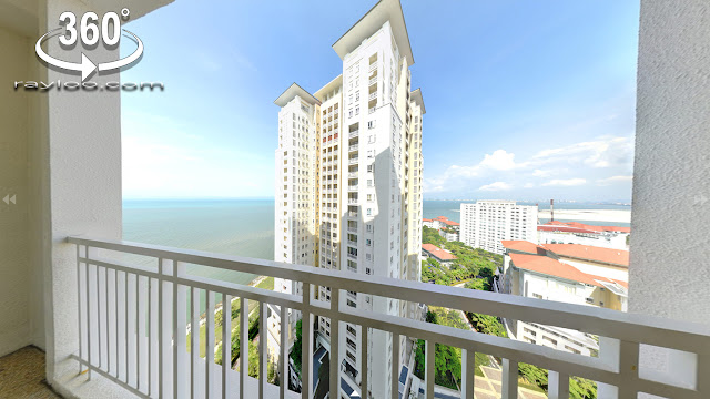 Quayside Seafront 1+1 Room Condo Tanjung Tokong Penang Raymond Loo