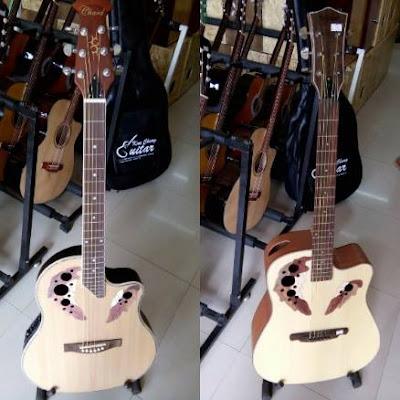 Bán Đàn guitar acoustic Ovation nhật bản giá 3 triệu