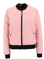 Jachetă bomber Vero Moda Milla roz