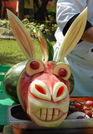 Funny At All Watermelon Art