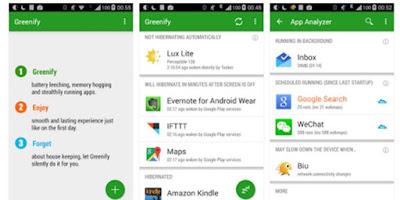 Greenify Aplikasi Gratis Pengirit Baterai Android Terbaik