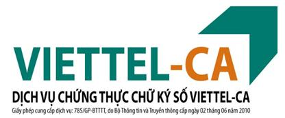 cách sử dụng chữ ký số Viettel