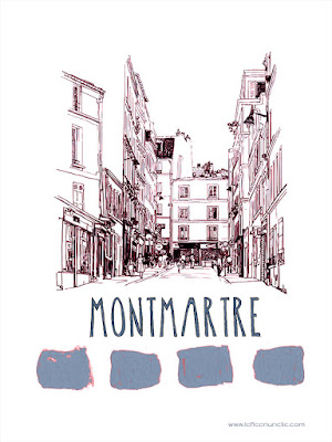 Montmartre, Paris, FLE, le FLE en un 'clic'
