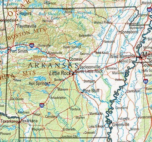 Arkansas | List of Cities in Arkansas
