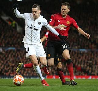 Manchester United vrs PSG