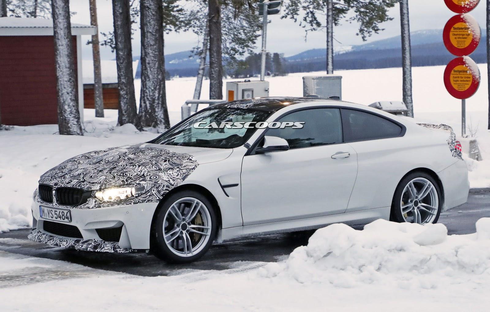 2014 - [BMW] M3 & M4 [F80/F82/F83] - Page 24 Spied-BMW-M4-CS-2