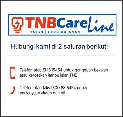 no hotline tnb