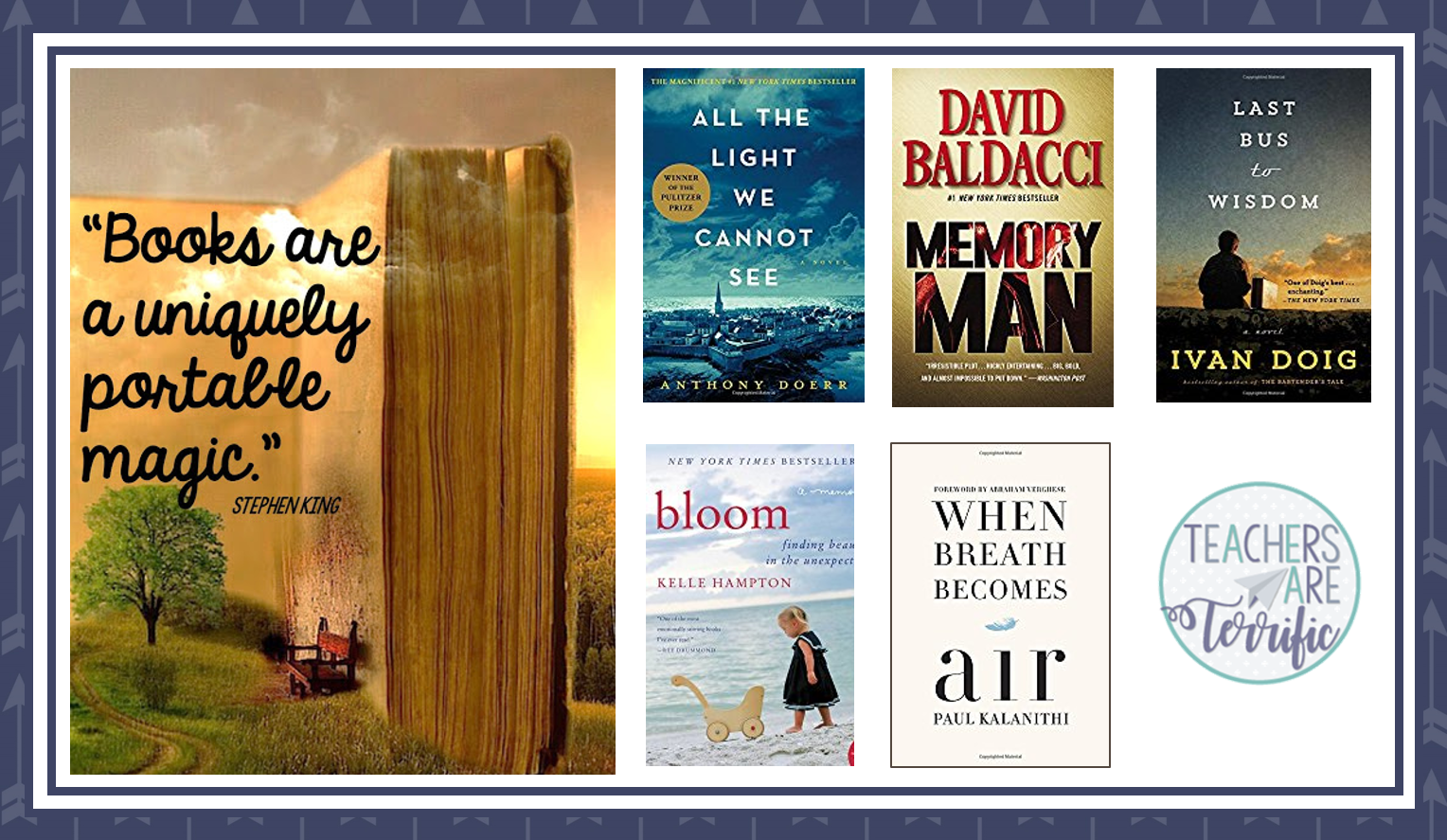 April Book Reviews- I cannot pick a favorite this month! All of these were perfect! Check this blog post!