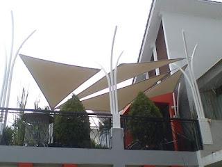 tenda membrane bandung - gudang canopy