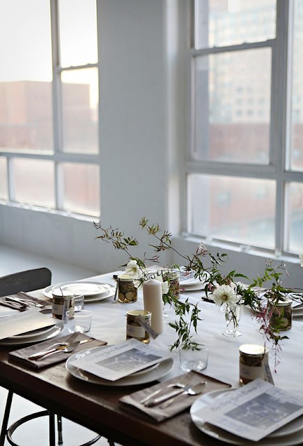 image result for modern farmhouse interior design beautiful tablescape minimal