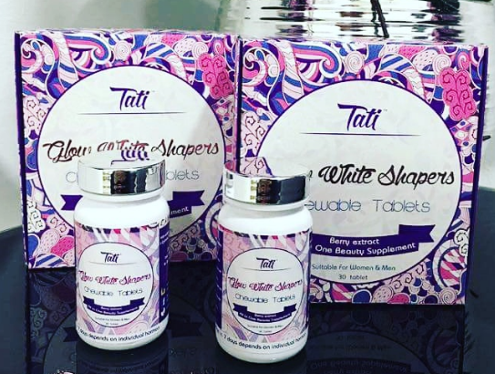 tati glow white shapers chewable tablet