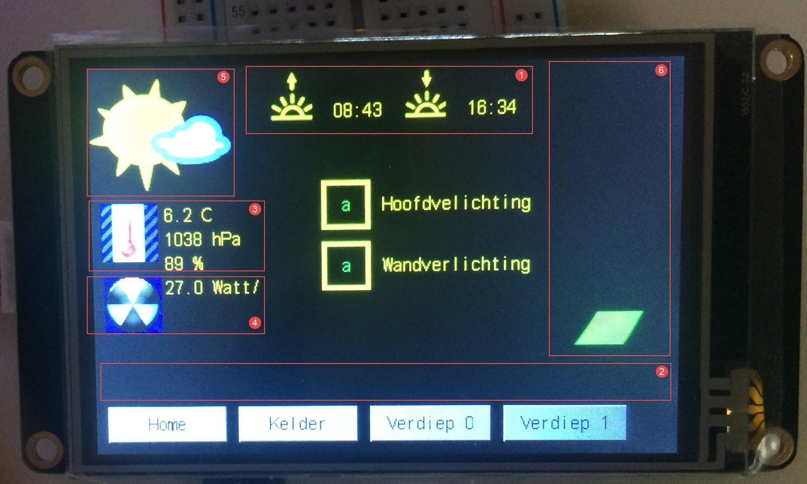 Virtual weatherstation on Nextion Display (Wunderground) | Projects