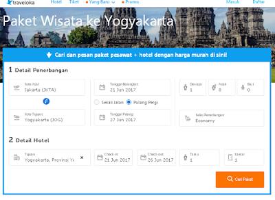 Paket Wisata Traveloka