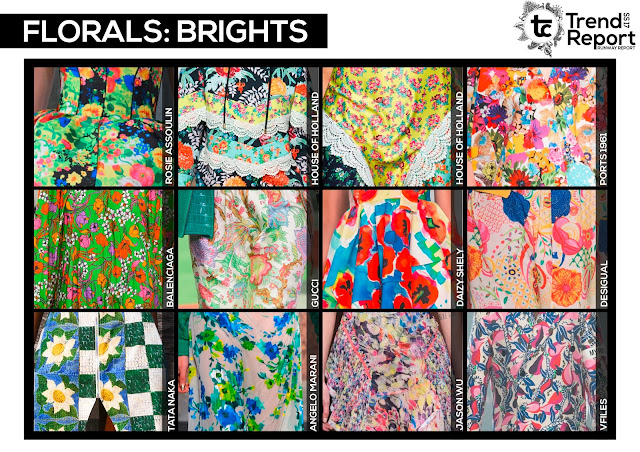 Textile candy, www.textilecandy.com, www.textilecandy.blogspot.co.uk, trend report, runway report, Spring/Summer 2017, runway collection, catwalk report, fashion trend, print design, SS17, floral design, floral print, floral fashion, floral design