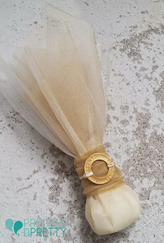 Favors for Greek wedding with four wishes