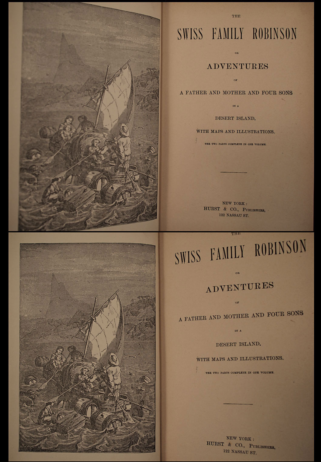 Isfive Antiquarian Books Ca The Swiss Family