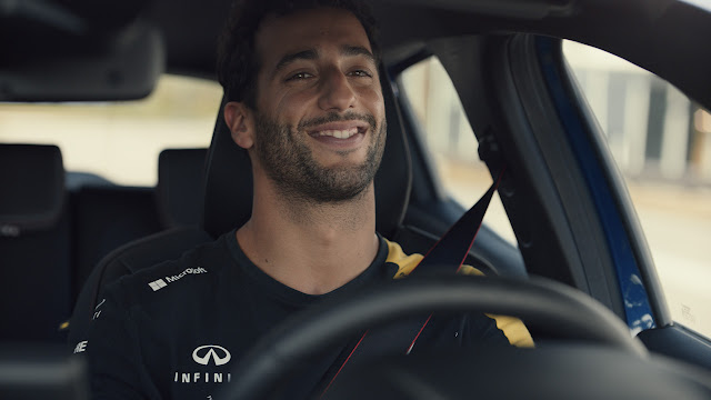 Daniel Riccardo  Enjoys the Moment  in New Renault Clio Commercial by Publicis Italy