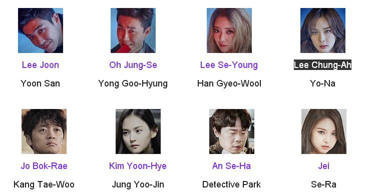 Vampire Detective Korean Drama Cast