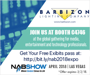 Barbizon Lighting Company at NAB 2018
