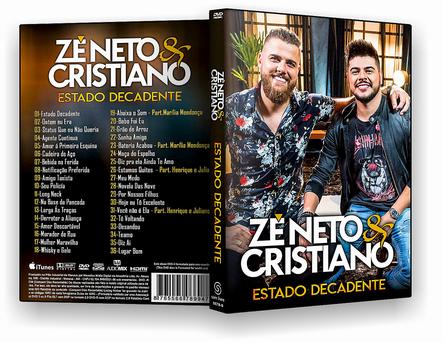 CAPA DVD – Zé Neto & Cristiano Estado Decadente – ISO