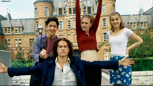 Ten Things I Hate About You Film Stills: Come On... Hit Me?