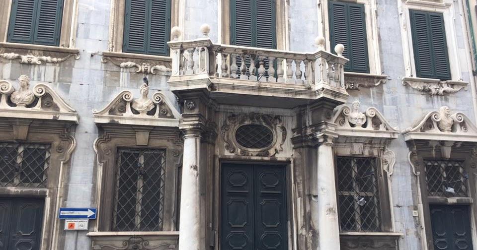 Livorno Daily I Luoghi Di Livorno Il Palazzo Delle Colonne Di Marmo