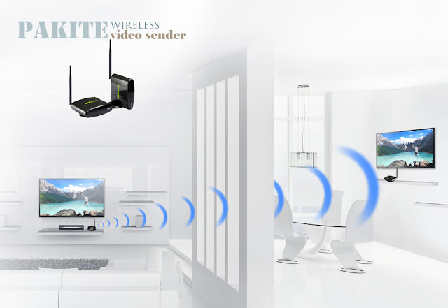 wireless tv to tv sender transmitter and receiver