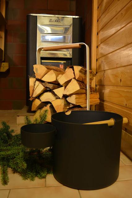 kolo saunasetti harvia kiuas stala puunkantoteline