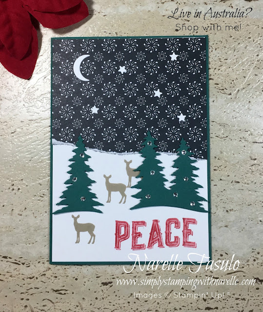 Make unique Christmas cards for all your family and friends using the Carols of Christmas set - http://bit.ly/2ftv7mb - Simply Stamping with Narelle