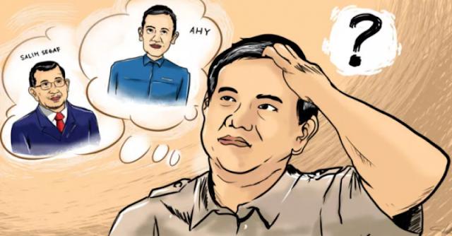Antara Salim dan AHY, Siapa Berpeluang Mendampingi Prabowo?