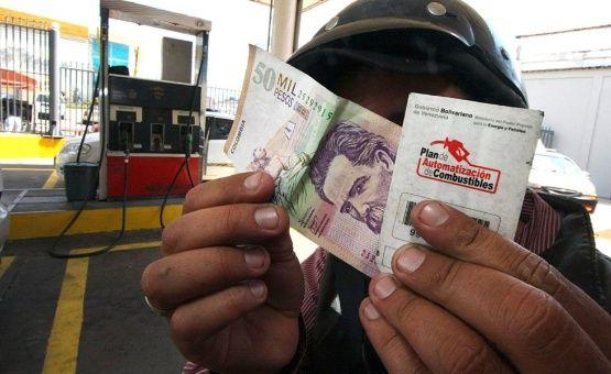 Venezuela venderá gasolina en moneda extranjera en frontera
