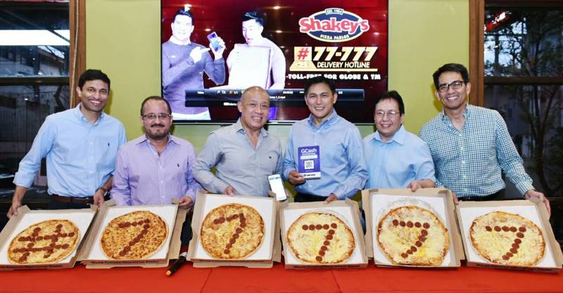 Globe Business, GCash Partner with Shakey's Philippines to Offer Toll-free Hotline and Scan-to-Pay Feature