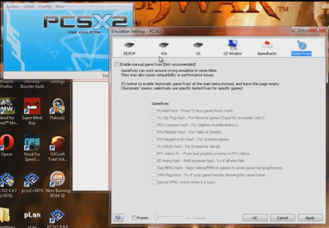 Pcsx 2 0 9 8 Ps2 Game Emulator Download Free Pc Ps2 Psp