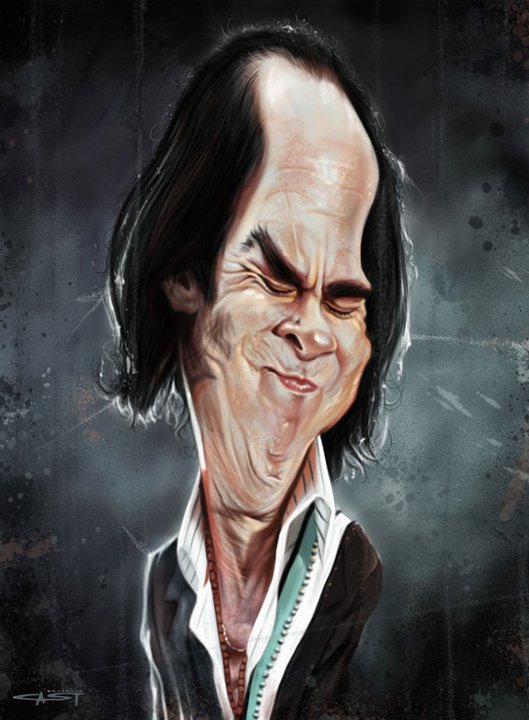 Nick Cave por Sebastián Cast