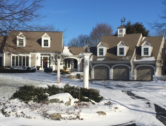 The fine living muse new england style homes in for Home in new england