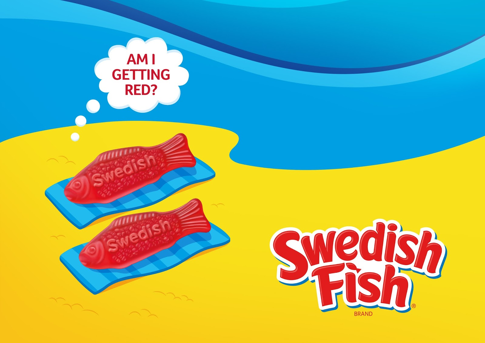 Swedish fish on packaging of the world creative package for What is swedish fish