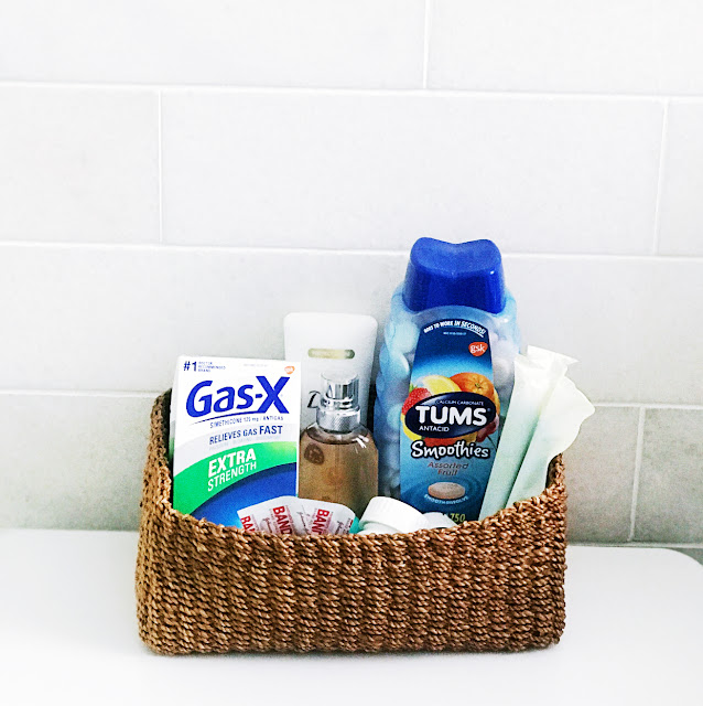 holiday guest room basket