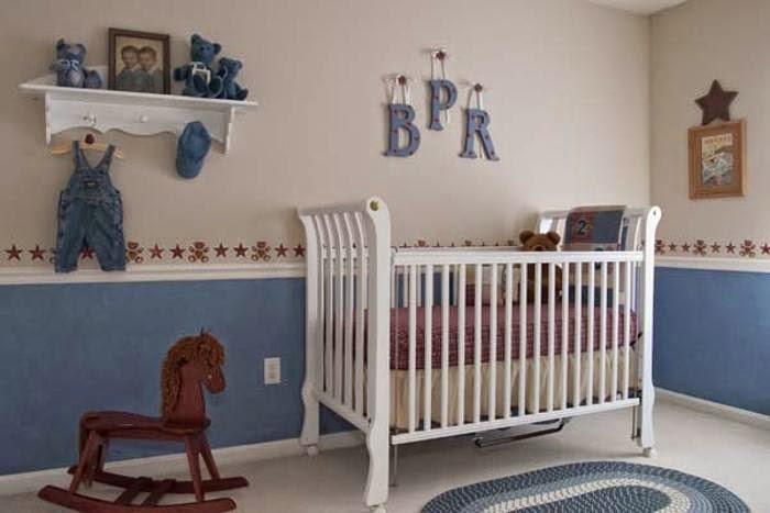 Dise os de dormitorios de beb dormitorios colores y estilos for Dormitorio bebe varon