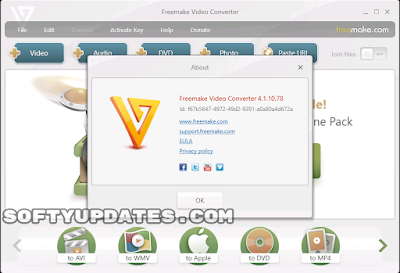 Freemake Video Converter 4.1.10 Build 83