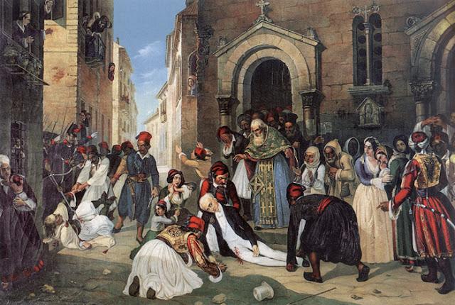 Σαν σήμερα στις 27 Σεπτεμβρίου 1831 η δολοφονία του Πρώτου Κυβερνητη της Ελλάδος Ιωάννη Καποδίστρια