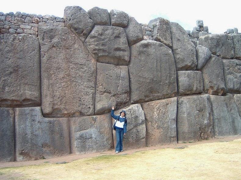 Las murallas de Sacsayhuamán