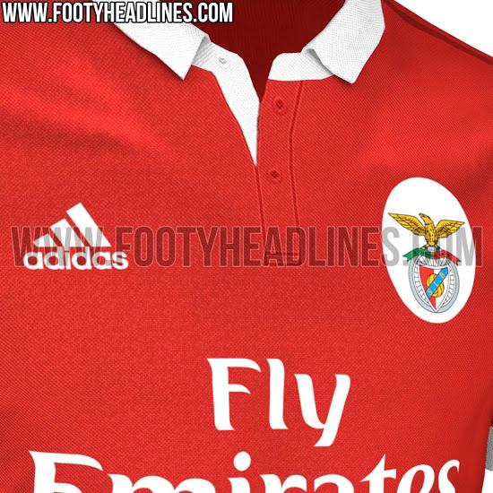 sale retailer 4af68 2978e FTH: Exclusive: Benfica 2017-18 Home Kit Leaked