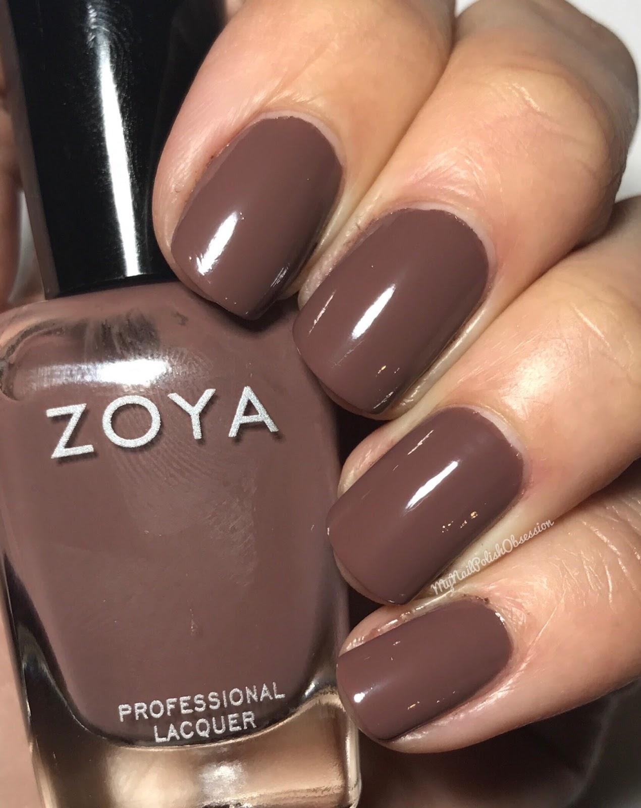 My Nail Polish Obsession: Zoya Naturel 3; Nail Polish & Matching ...