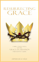 Book cover: image of crown of thorns wrapped around a glorious gold crown